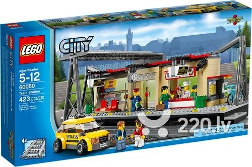 Konstruktors Lego City Train Station 60050 cena un informācija | LEGO | 220.lv