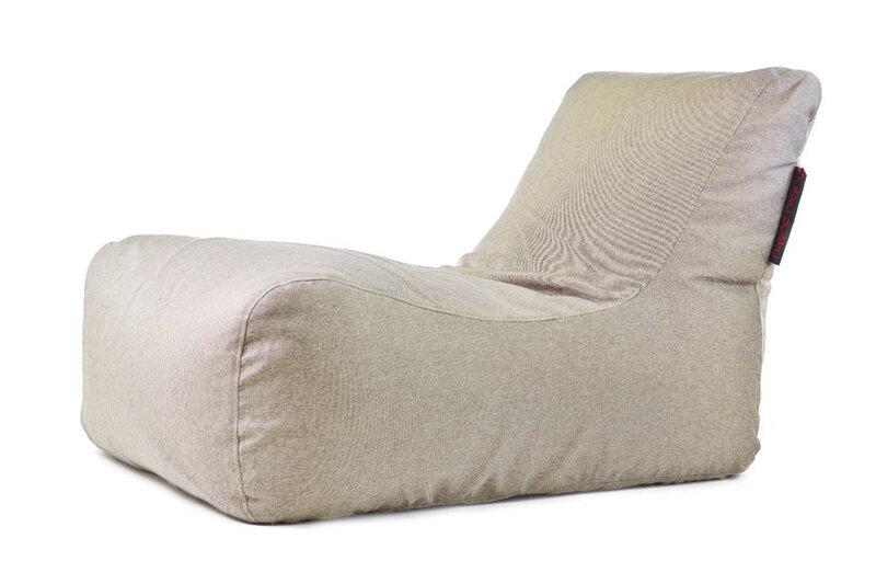 Sēžammaiss Lounge Nordic Beige cena un informācija | Sēžammaisi, pufi | 220.lv