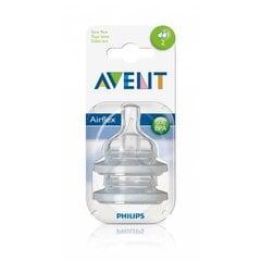"Barošanas pudeļu silikona knupīši Philips Avent ""Classic"", no 1+ mēn."