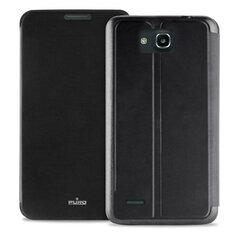 Aizmugures apvalks PURO telefonam HUAWEI G70, Melns cena un informācija | Maciņi, somiņas | 220.lv