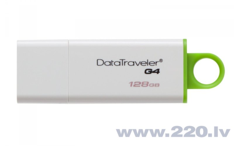 Kingston 128GB DataTraveler G4 USB3.0 lētāk