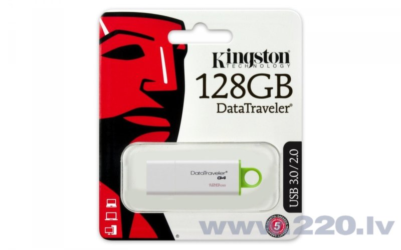 Kingston 128GB DataTraveler G4 USB3.0