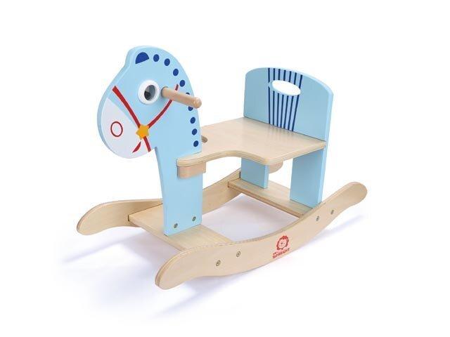 Šupuļzirgs Brimarex, zils cena un informācija | Rotaļlietas zīdaiņiem | 220.lv
