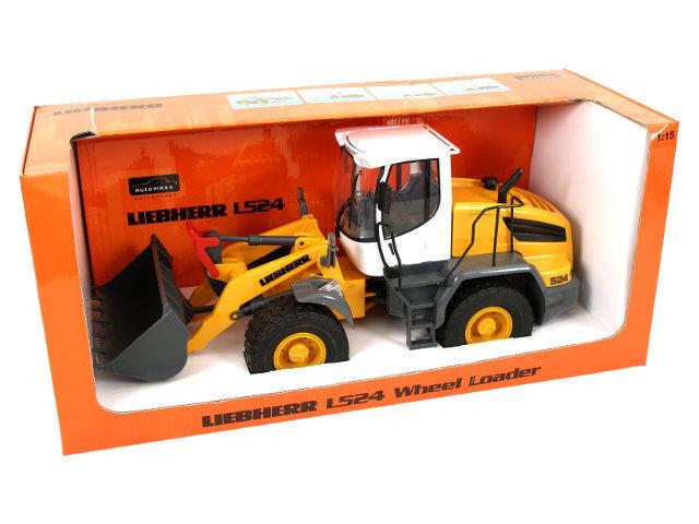 Traktors 1:15 LIEBHERR L524 WHEEL cena un informācija | Mašīnas, vilcieni, trases, lidmašīnas | 220.lv