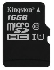 Kingston microSDHC (G2) 16 GB, 10 klase
