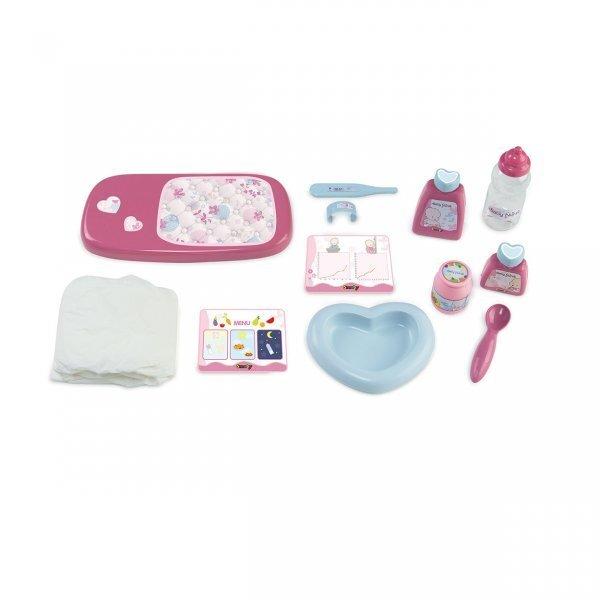 Bērnu leļļu kopšanas komplekts Smoby Baby Nurse cena un informācija | Lomu spēles | 220.lv