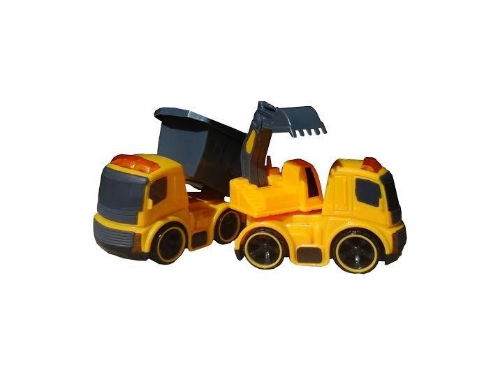 Celtniecības mašīnu komplekts Super City Truck cena un informācija | Mašīnas, vilcieni, trases, lidmašīnas | 220.lv