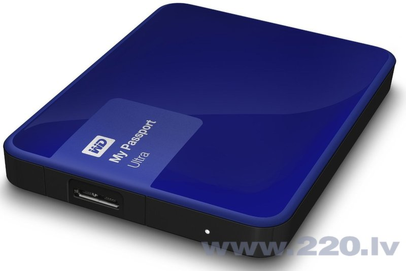 "Western Digital 2TB My Passport Ultra 2.5"" USB3.0 Blue цена и информация 
