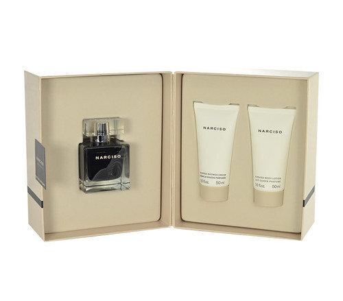 Komplekts Narciso Rodriguez Narciso edt 50 ml + ķermeņa losjons 50 ml + dušas želeja 50 ml cena un informācija | Sieviešu smaržas | 220.lv