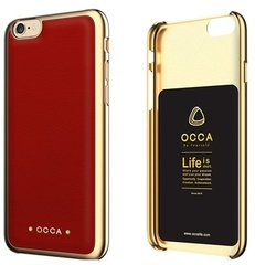 OCCA Back cover for iphone 6s Absolute Red