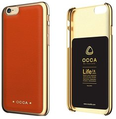 OCCA Back cover for iphone 6s Absolute Orange