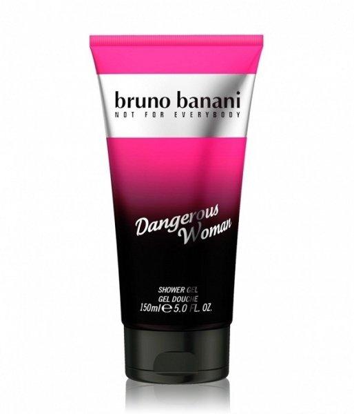 Dušas želeja Bruno Banani Dangerous Woman 150 ml cena un informācija | Parfimēta sieviešu kosmētika | 220.lv