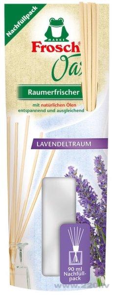 Gaisa atsvaidzinātājs ar lavandas aromātu Frosch 90 ml (uzpilde) cena un informācija | Gaisa atsvaidzinātāji | 220.lv
