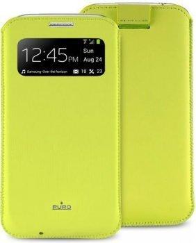 Aizmugures apvalks Puro telefonam Galaxy S4 (PCCS4VIEWGRN) cena un informācija | Maciņi, somiņas | 220.lv