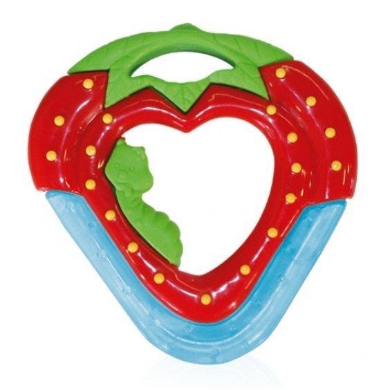 Zobu riņķis Lorelli Zemene cena un informācija | Rotaļlietas zīdaiņiem | 220.lv