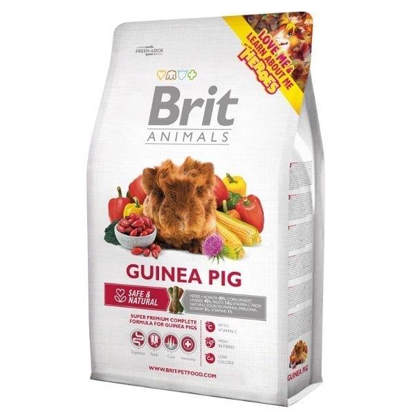 Jūrascūciņu barība Brit Animals Guinea Pig 300 g cena un informācija | Barība grauzējiem | 220.lv