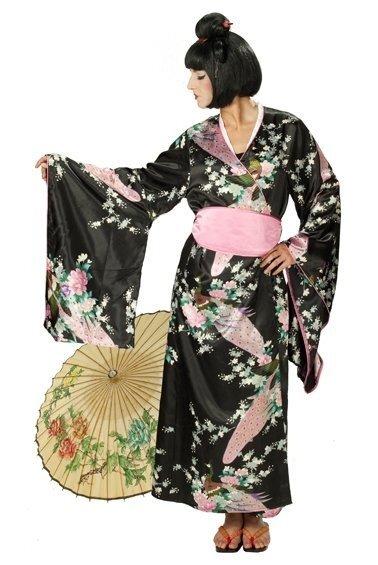 Japāņu sievietes kimono cena un informācija | Karnevāla kostīmi, maskas un parūkas | 220.lv