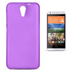 Forcell Jelly Brush Perlamutra telefona silikona apvalks HTC Desire 620 Violets