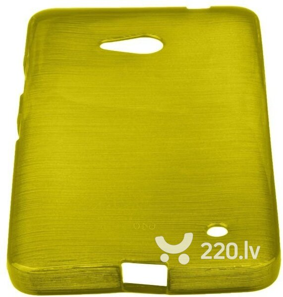 Forcell Jelly Brush Perlamutra telefona silikona apvalks Microsoft 640 Lumia Zaļš cena