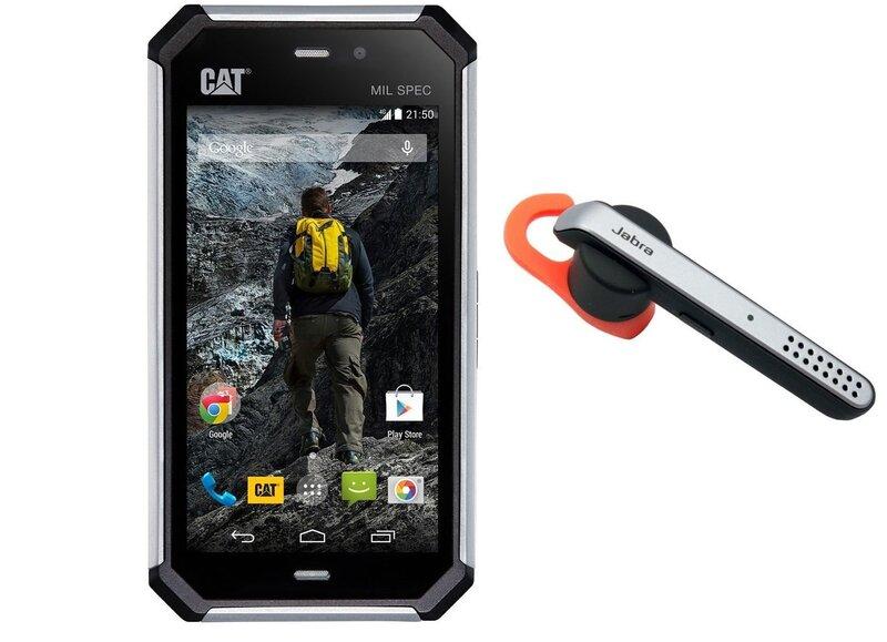 Caterpillar S50 Grey (Pelēks) + Jabra Stealth Handsfree cena un informācija | Mobilie telefoni | 220.lv