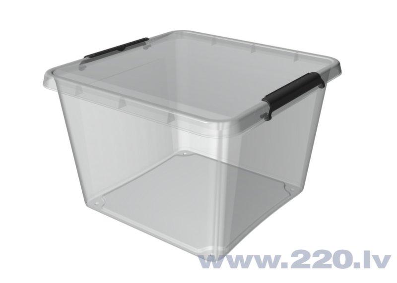 Kaste mantu uzglabāšanai Orplast, 32 l cena un informācija | Veļas grozi un mantu uzglabāšanas kastes | 220.lv