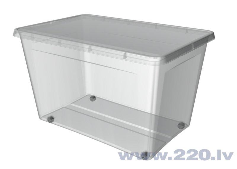 Kaste mantu uzglabāšanai Orplast, 60 l cena un informācija | Veļas grozi un mantu uzglabāšanas kastes | 220.lv