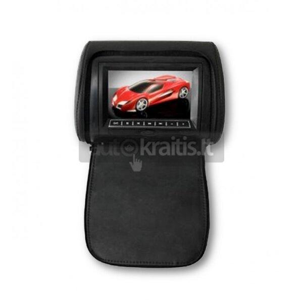 7 collu pagalvju monitors ar DVD-atskaņotāju un LED displeju, DV7823 cena un informācija | Auto akustiskās sistēmas | 220.lv