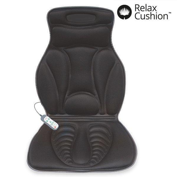 Termiskais Shiatsu masāžas pārklājs auto sēdeklim cena un informācija | Auto piederumi | 220.lv