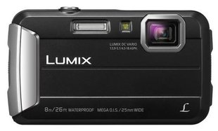 Panasonic Lumix DMC-FT30, Melna
