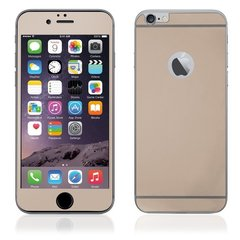 KLT Extreeme Shock Aizsargplēve-stikls Apple iPhone 6 Plus 6S Plus (Priekš.+Aizm. Full Body) Zeltains (EU Blister)