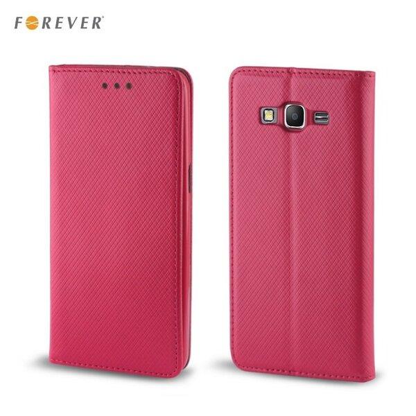 Forever Чехол-книжка с магнитной фиксацией для мобильного телефона Microsoft 640 Lumia, Розовый цена и информация | Maciņi, somiņas | 220.lv
