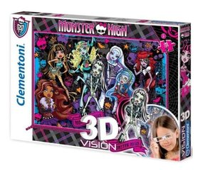 Пазл 3D, Clementoni Monster High, 104 det. 20075