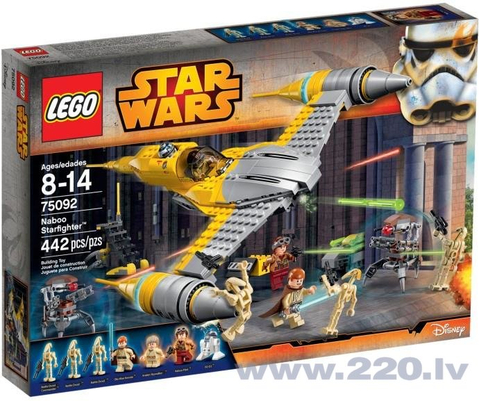 Конструктор Lego Star Wars Naboo Starfighter 75092 цена и информация | LEGO | 220.lv