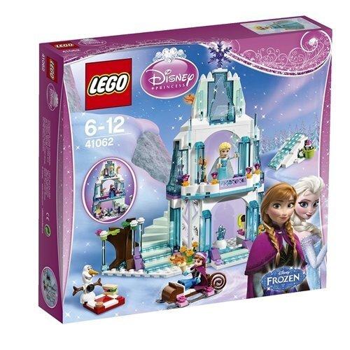 Konstruktors Lego Disney Princess Elsa's Sparkling Ice Castle 41062 cena un informācija | LEGO | 220.lv