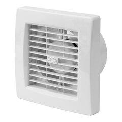 Nosūces ventilators Europlast EXTRA d100mm ar taimeri un mitruma sensoru cena un informācija | Ventilatori vannas istabai | 220.lv