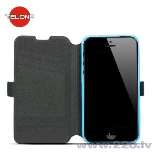 Чехол-книжка Telone Super Slim Shine Book Case для телефона Sony Xperia M4 Aqua, Синий цена и информация | Maciņi, somiņas | 220.lv