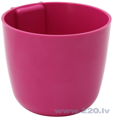 Puķu pods ar magnētu ''RUTULYS'', rozā, 12cm cena un informācija | Dekoratīvie puķu podi | 220.lv