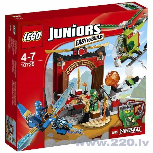 Конструктор Lego Juniors Lost Temple 10725 цена и информация | LEGO | 220.lv
