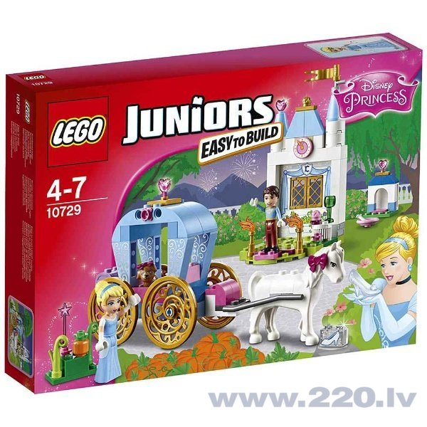 Конструктор Lego Juniors Cinderella's Carriage 10729 цена и информация | LEGO | 220.lv