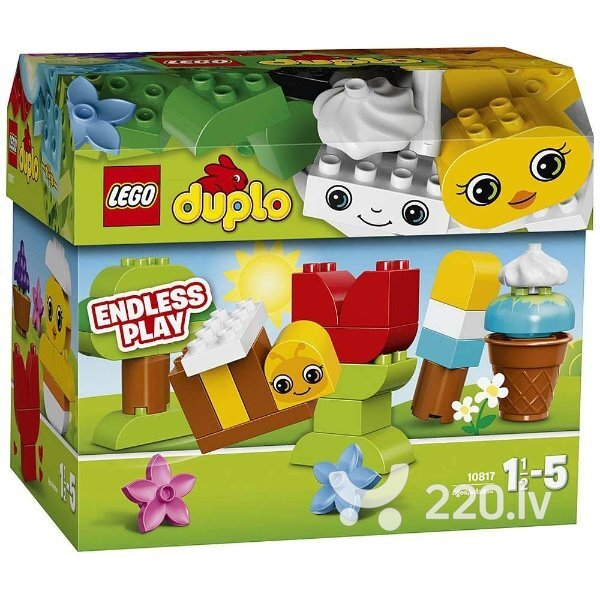 Konstruktors Lego Duplo Creative Chest 10817 cena un informācija | LEGO | 220.lv