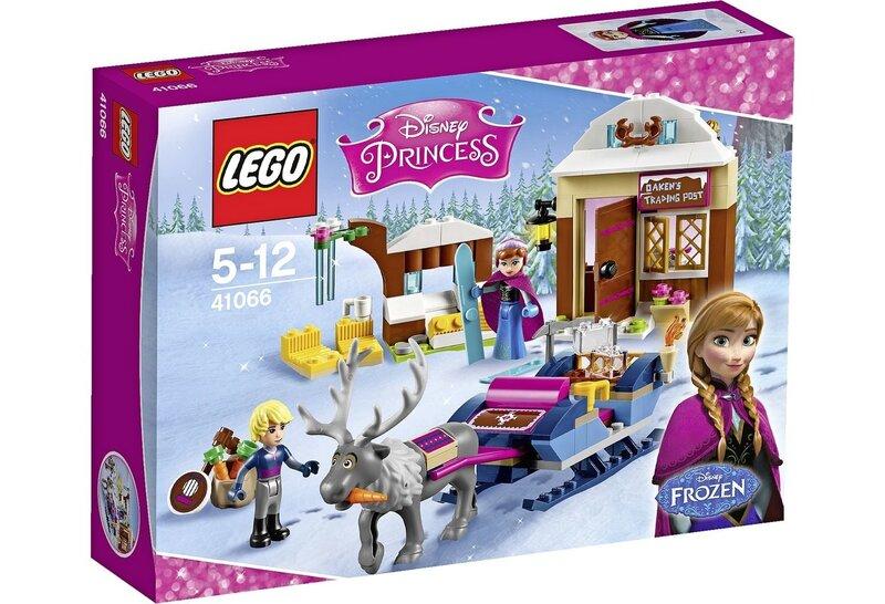 Konstruktors Lego Disney Princess Frozen Anna & Kristoff's Sleigh Adventure 41066 cena un informācija | LEGO | 220.lv