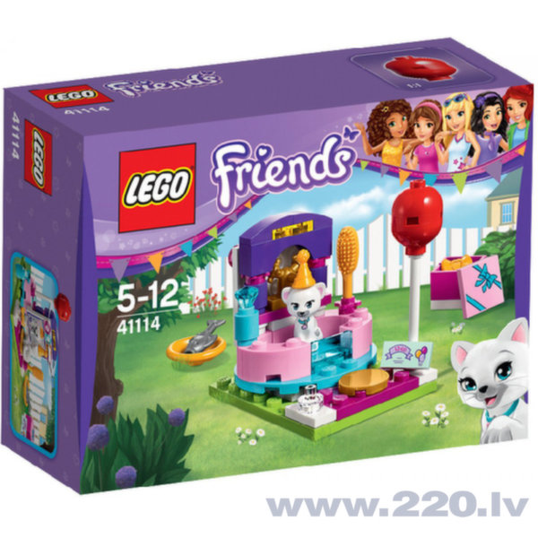 Конструктор Lego Friends Party Styling 41114 цена и информация | LEGO | 220.lv