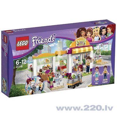Konstruktors Lego Friends Heartlake Supermarket 41118 cena un informācija | LEGO | 220.lv