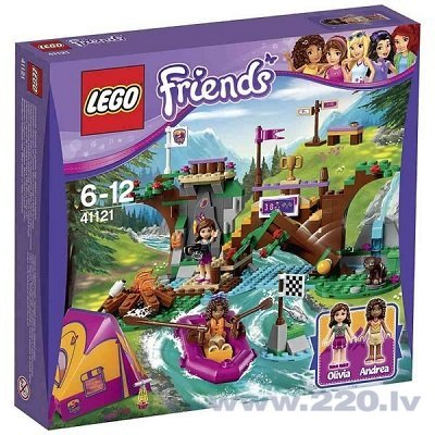 Конструктор Lego Friends Adventure Camp Rafting 41121 цена и информация | LEGO | 220.lv