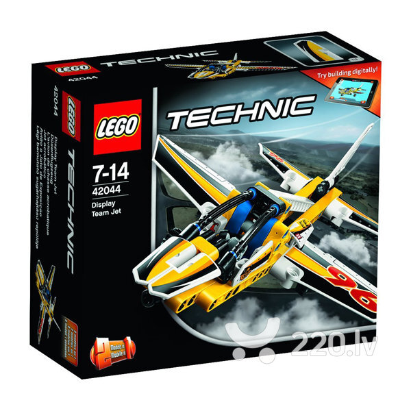 Конструктор Lego Technic Display Team Jet 42044 цена и информация | LEGO | 220.lv