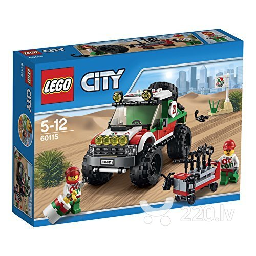 Конструктор Lego City 4 x 4 Off Roader 60115 цена и информация | LEGO | 220.lv