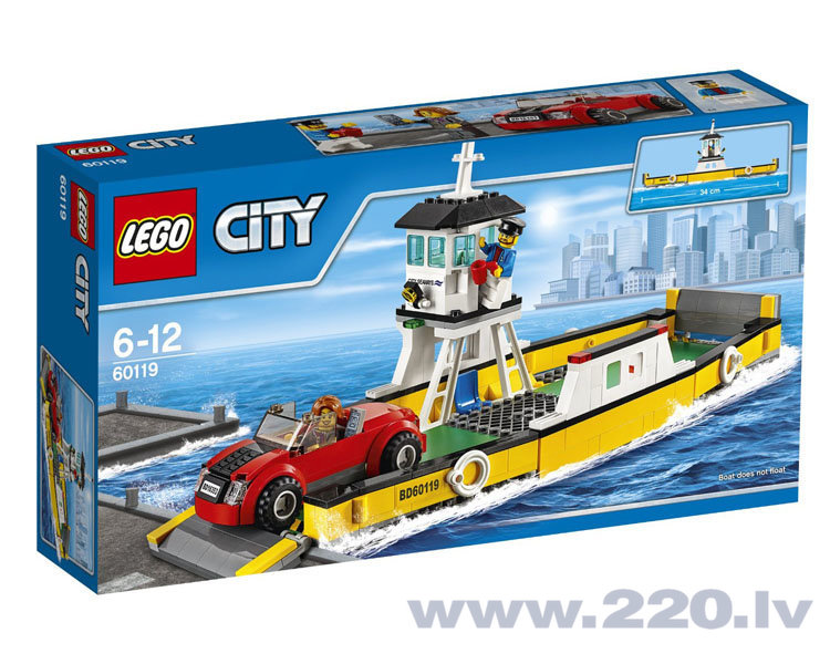 Конструктор Lego City Ferry 60119 цена и информация | LEGO | 220.lv