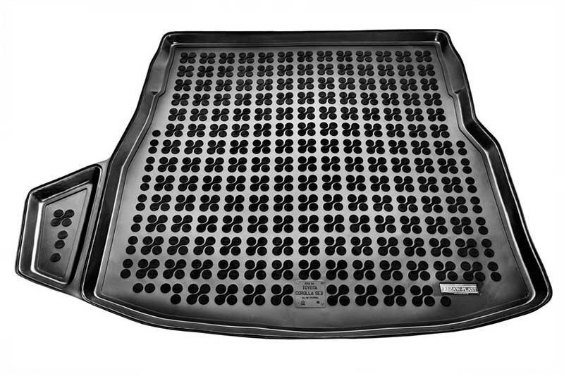 Gumijas bagāžas nodalījuma paklājiņš Toyota COROLLA Sedan 2012 /231754 cena un informācija | Bagāžnieka paklājiņi pēc auto modeļiem | 220.lv