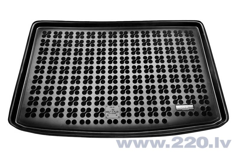 Gumijas bagāžas nodalījuma paklājiņš VW GOLF V PLUS 2004-2009 /231832 cena un informācija | Bagāžnieka paklājiņi pēc auto modeļiem | 220.lv