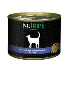 Konservi Nutripe Classic Lamb&Green Lamb Tripe 185 g cena un informācija | Konservi kaķiem | 220.lv